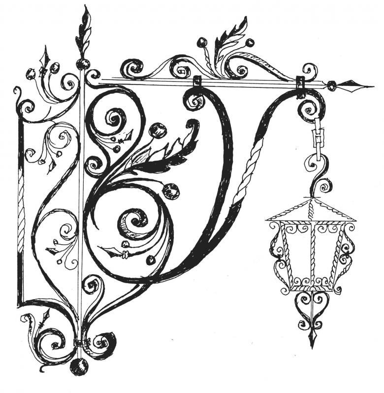 Кованные изделия дизайн
