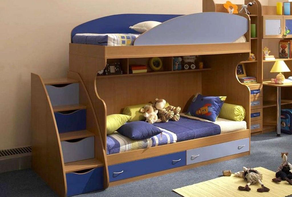 Двухярусная детская мебель фото