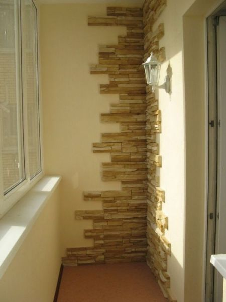 Отделка балкона плиткой фото 1